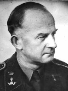 Kamratföreningens grundare överstelöjtnant Ernst Jacobsson.
