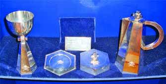 Nattvardssilver av Viven Nilsson överlämnades till kåren vid 10-årsjubileet 1952