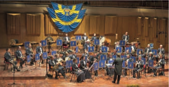 Konsert på Ystads Teater med Marinens Musikkår inleder alltid det nya året